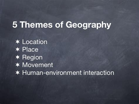themes of geography perception 1 introduction to cultural human geography 1
