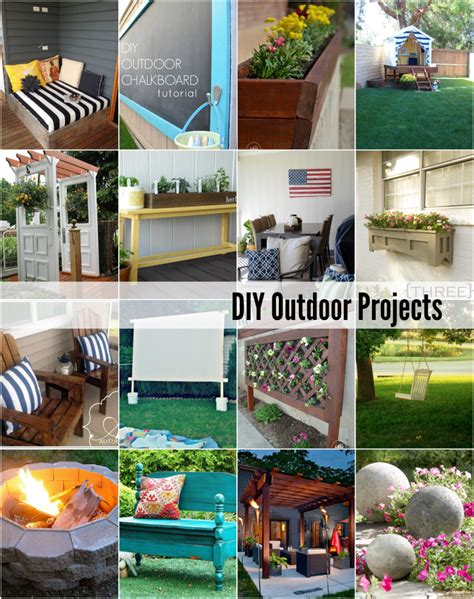 diy projects for outside 20 diy outdoor projects the idea room