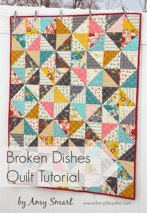 Quilt Tutorial Videos | half square triangle baby quilt pattern