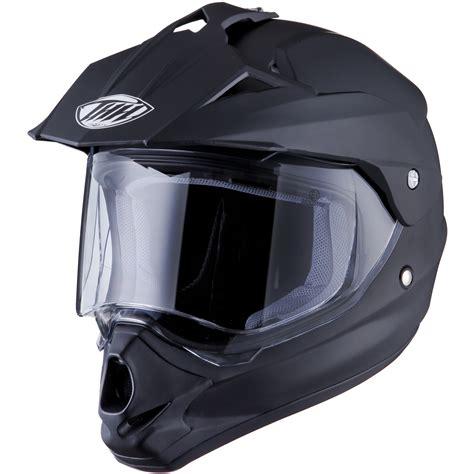 thh motocross helmet thh tx 13 solid plain matt black dual sport helmet ds mx