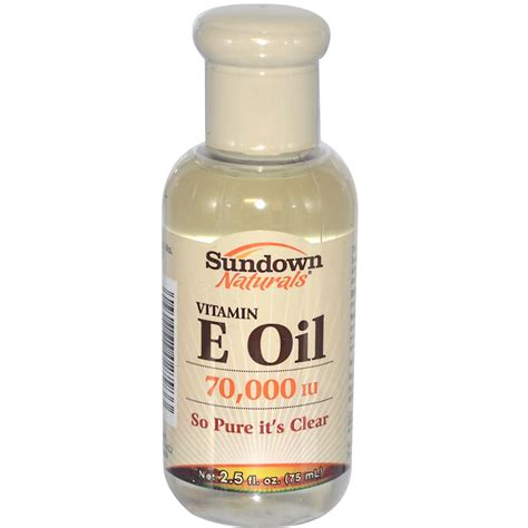 Produk Istimewa Sundown Naturals Vitamin E Vitamin E 75 Ml rexall sundown naturals vitamin e 70 000 iu 2 5 fl