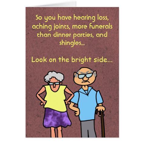 printable jokes for seniors funny cartoon seniors discount old age birthday zazzle