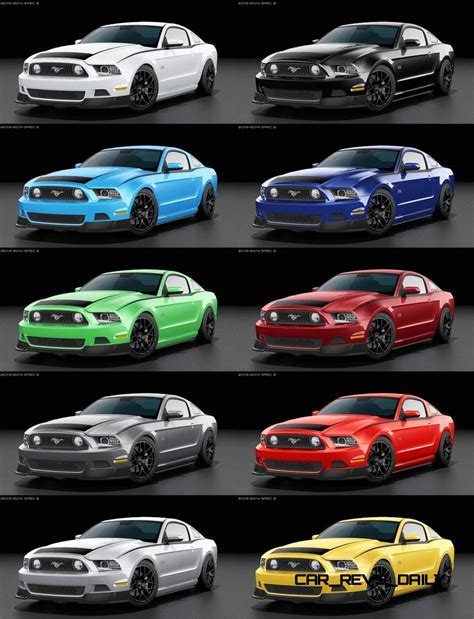 ford mustang colors 2014 ford mustang rtr spec 2
