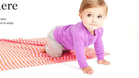 J crew launches pricey line of cashmere baby clothes today com