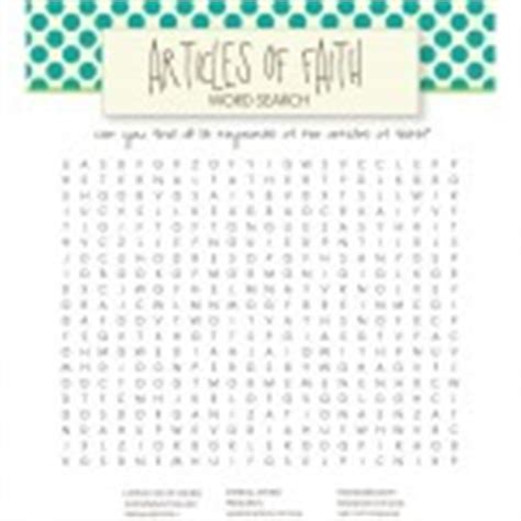 printable word search on faith lds word searches for kids free printables live craft eat