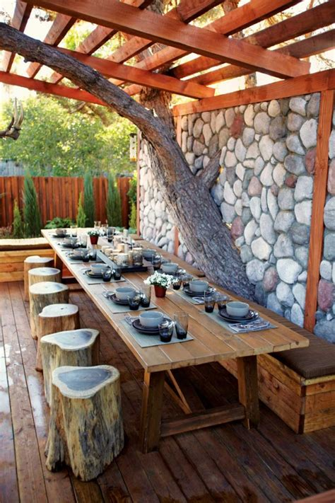 delightful outdoor dining area design ideas
