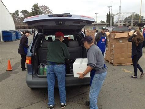 Salvation Army Food Giveaway - salvation army volunteers recall how cal expo christmas toy giveaway helped their