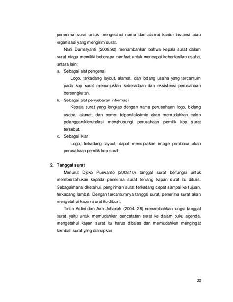 fungsi layout perusahaan bagian dan fungsi surat