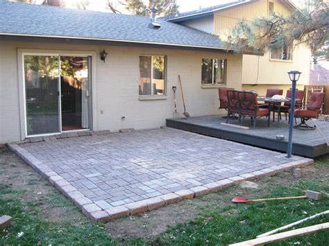 Do It Yourself Paver Patio Do It Yourself Patio Ideas Home Design