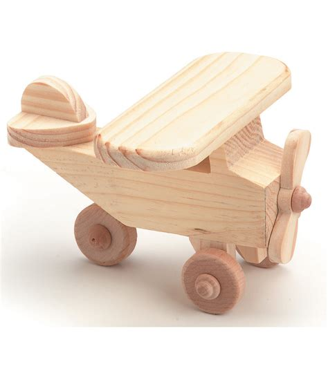 woodworking toys airplane wood kit jo