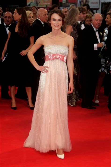 Keira Knightley At The Venice Festival by Keira Knightley Atonement Premiere
