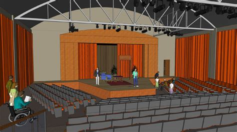 design concept theatre dedicated theatre building concept doane university