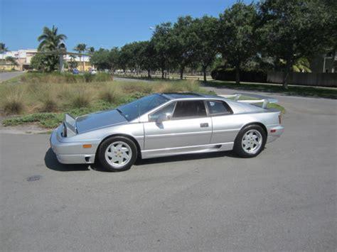 1992 lotus esprit s4 turbo 5 speed trani only 4 s4 built in 1992 rare car look classic lotus