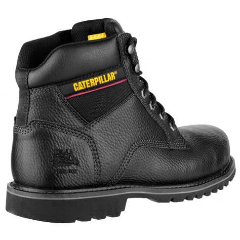 caterpillar jaguar safty leather caterpillar electric 6 mens safety boots sb steel toe