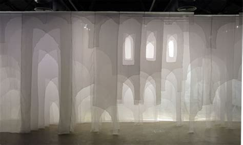 White Curtains Cairo Art Installation Explores Soul Of Architecture