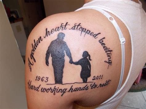 dad memorial tattoos for daughters the 25 best ideas about tattoos for dads on