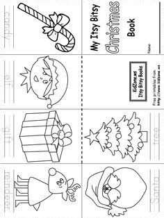 printable christmas games for kindergarten clothes minibooks for children how to make your mini