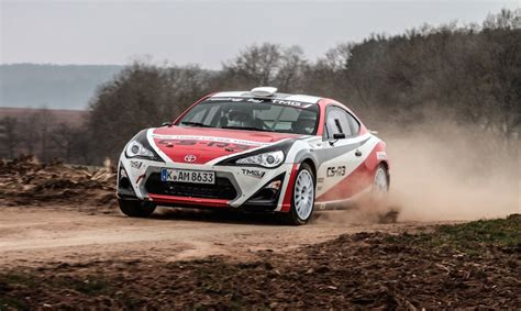 toyota rally car toyota gt86 rally car