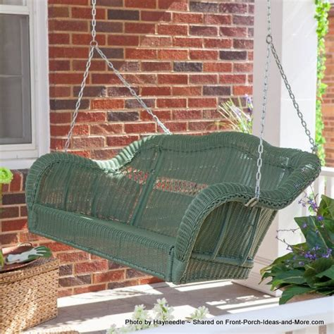 white wicker porch swing wicker porch swing white wicker furniture
