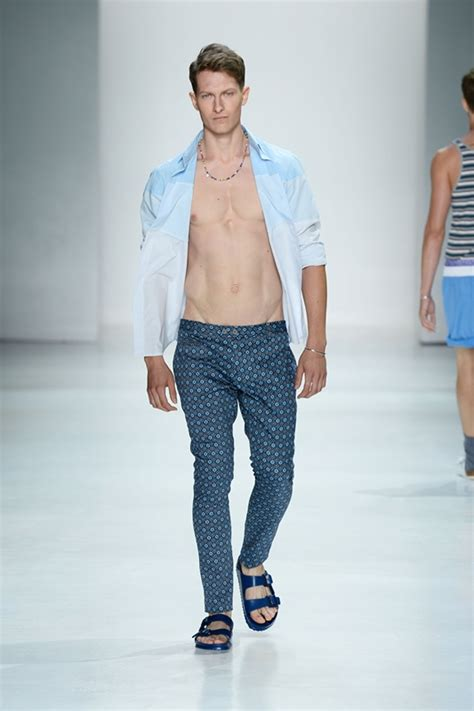 no more chevron whats new for 2015 fashion new york fashion week men s parke ronen spring summer