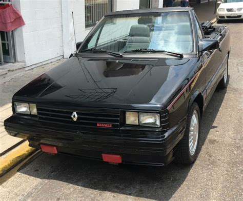 renault alliance convertible image gallery amc alliance