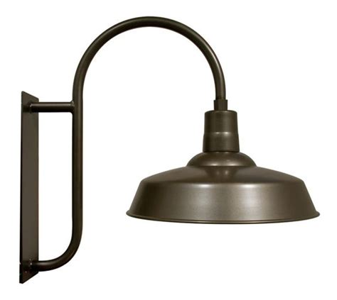 Outdoor Barn Light Fixtures Exterior The Hitchen Post Warehouse Gooseneck Light Barn Light Electric Yard