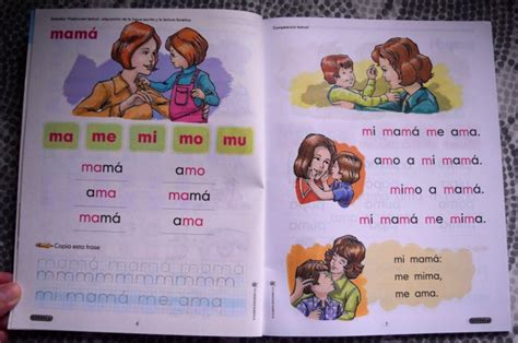 libro mama mommy mommy maestra nacho lectura inicial a spanish reading workbook