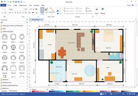 Software Draw Floor Plan by Create Floor Plan For Ppt