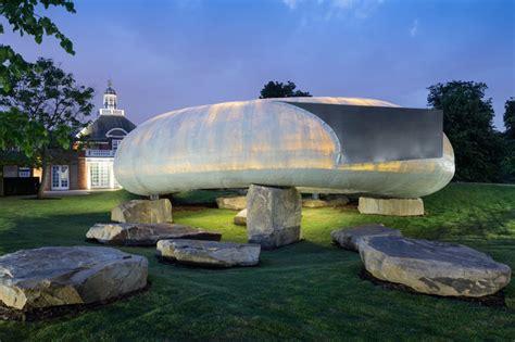 designboom uk pavilion 2014 serpentine pavilion by smiljan radic opens in london
