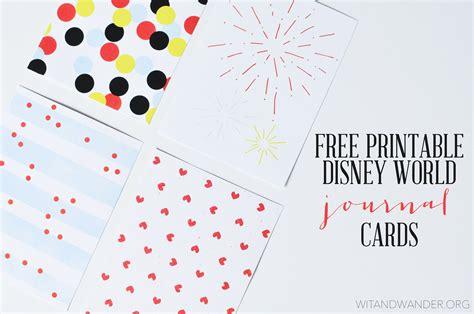 free printable disney postcards disney world