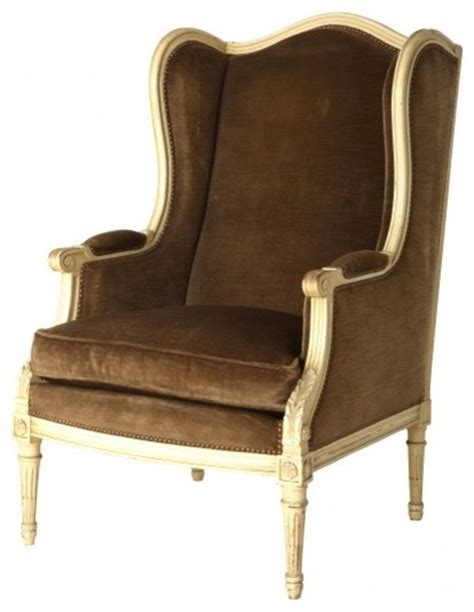 antique wingback chair antique mohair wingback chair traditional armchairs
