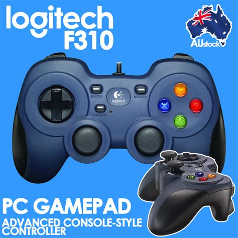 Limited Edition Jual Logitech Gamepad F310 logitech f310 usb gamepad comfortable wired gaming controller pc program button 940 000112