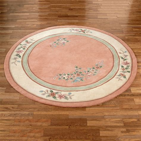 corner rugs corner floral rug blush 7 6 quot touch of class