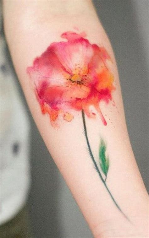 watercolor tattoos bad idea 100 most beautiful watercolor ideas