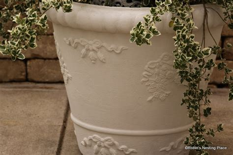 Foam Planters by Robins Nesting Place Sprucing Up Foam Planters