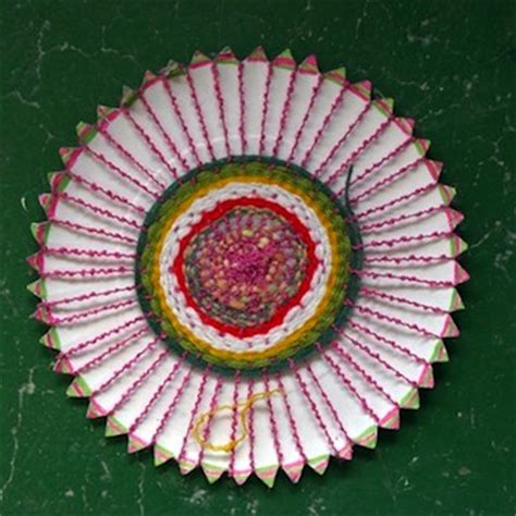 paper plate weaving craft paper plate weavings things to make and do crafts and