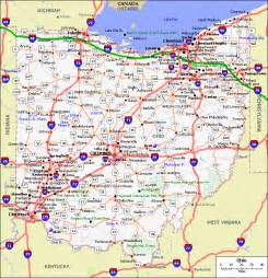 Ohio Maps by Gallery For Gt Map Of All Ohio Cities