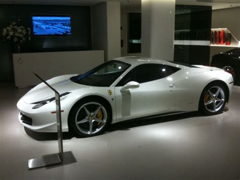 458 White For Sale 458 Italia Spotted College Cars