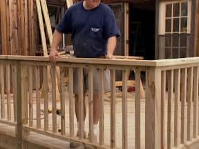 Replace Banister Spindles Patio Deck Railing Design