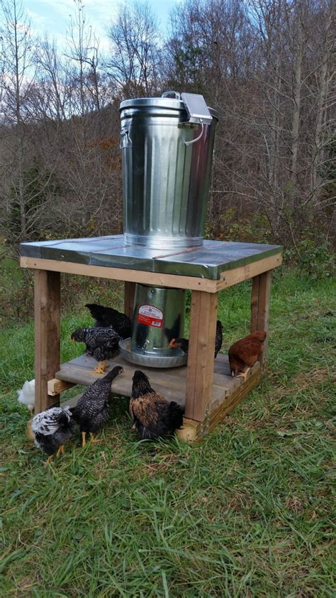 Backyard Deer Feeder by 100 Lb Capacity Automatic Chicken Feeder With Solar Panel