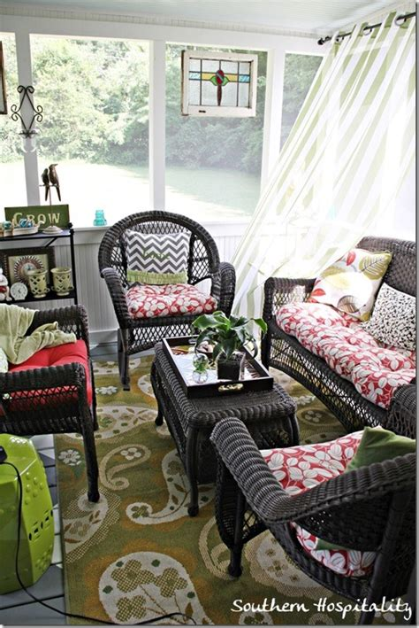 how to keep from blowing in on porch my beautiful screened porch southern hospitality