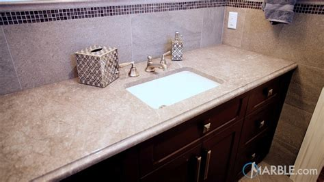 marble or granite for bathroom countertop corsica grey granite bathroom countertop