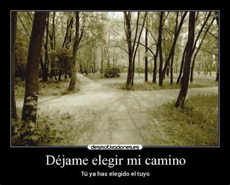 mi camino el camino 1496039033 d 233 jame elegir mi camino desmotivaciones
