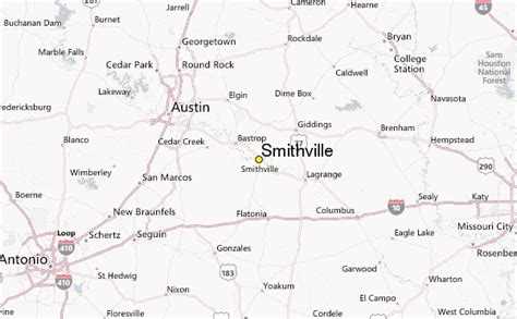 smithville texas map smithville weather station record historical weather for smithville texas