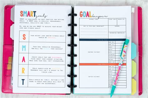 free printable weight loss planner weight loss planner free meals to door