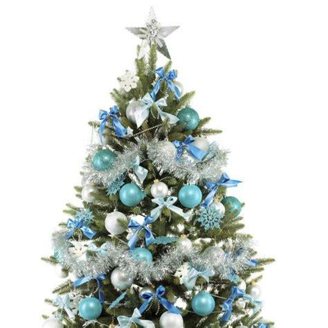 fotos arboles de navidad 193 rbol de navidad azul y plata fotos de navidad