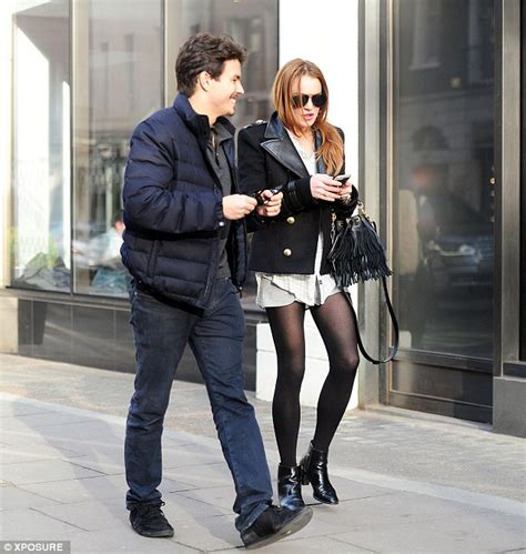 Style Exclusive Lindsays New Boyfriend by Lindsay Lohan Cosies Up To New Beau Egor Tarabasov On