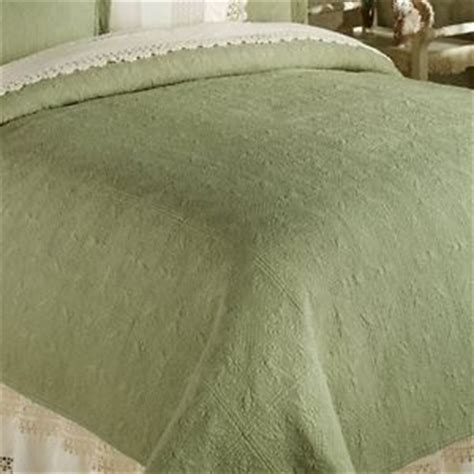coverlet or quilt sage green twin full queen or king quilt 100 cotton