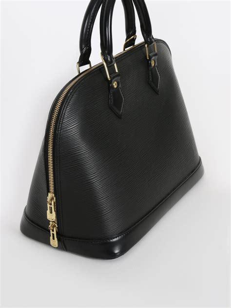 Louis Vuitton Epi Leather Pm louis vuitton alma pm epi leather noir luxury bags