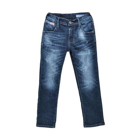 Special Produk Celana Anak Chinos jual osella denim coint print celana panjang anak laki blue harga